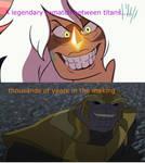 Jasper Vs Thanos by lightyearpig