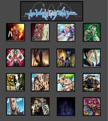 JoJo's Bizarre Reaper's Game by lightyearpig