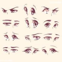 Eyes 2 by LiilDanica