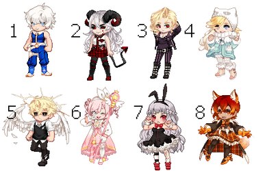 OTA Gaia Adopts #9   8/8 Open by twintailedtactician
