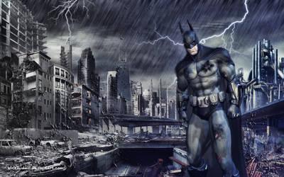 Arkham City fanart by Sliceandkill