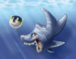 shark week skribble by dollyolly1