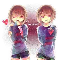 Undertale - Duality by aiishii