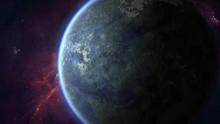 An Exoplanet by CNoteProductions