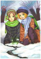 APH: Snowdrops by momofukuu