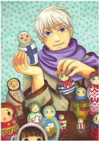 APH: You're toys in my hands by momofukuu