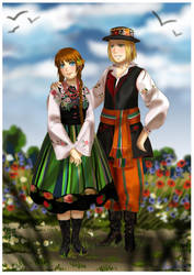 APH: Lowicz by momofukuu