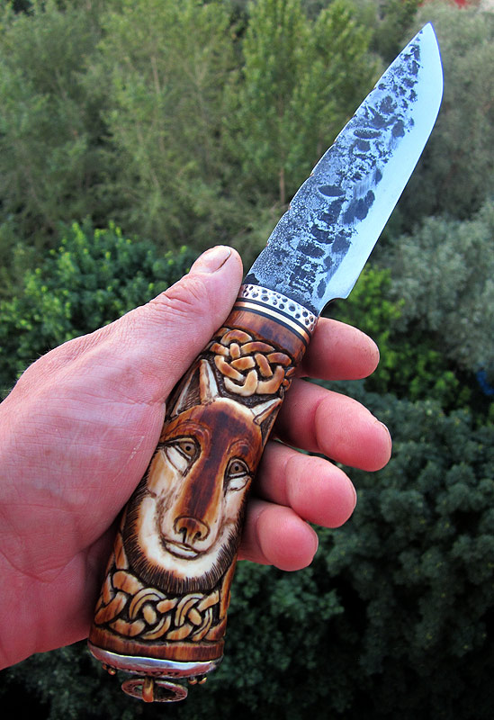 Wolf knife by McCaren