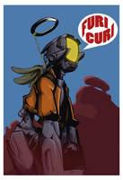 TV-kun colored by enemydownbelow