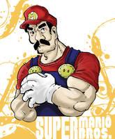 Mario by enemydownbelow