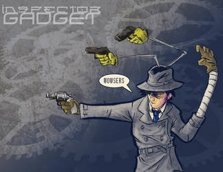 Inspector Gadget by enemydownbelow