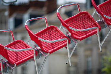 Flying Chairs by Pierre-Lagarde