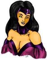 Nightstar - DC Comics - Color by UltimeciaFFB