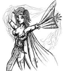 Rydia - Final Fantasy IV by UltimeciaFFB