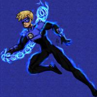 No Name 54 - Blue Lantern - B by UltimeciaFFB