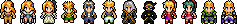 Sprites - Final Fantasy VI by UltimeciaFFB