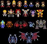 Sprites - Final Fantasy VIII by UltimeciaFFB