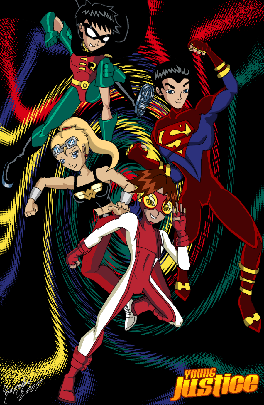 TT - Young Justice - Color by UltimeciaFFB
