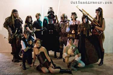 Steampunk Star Wars Group Shot by ljvaughn