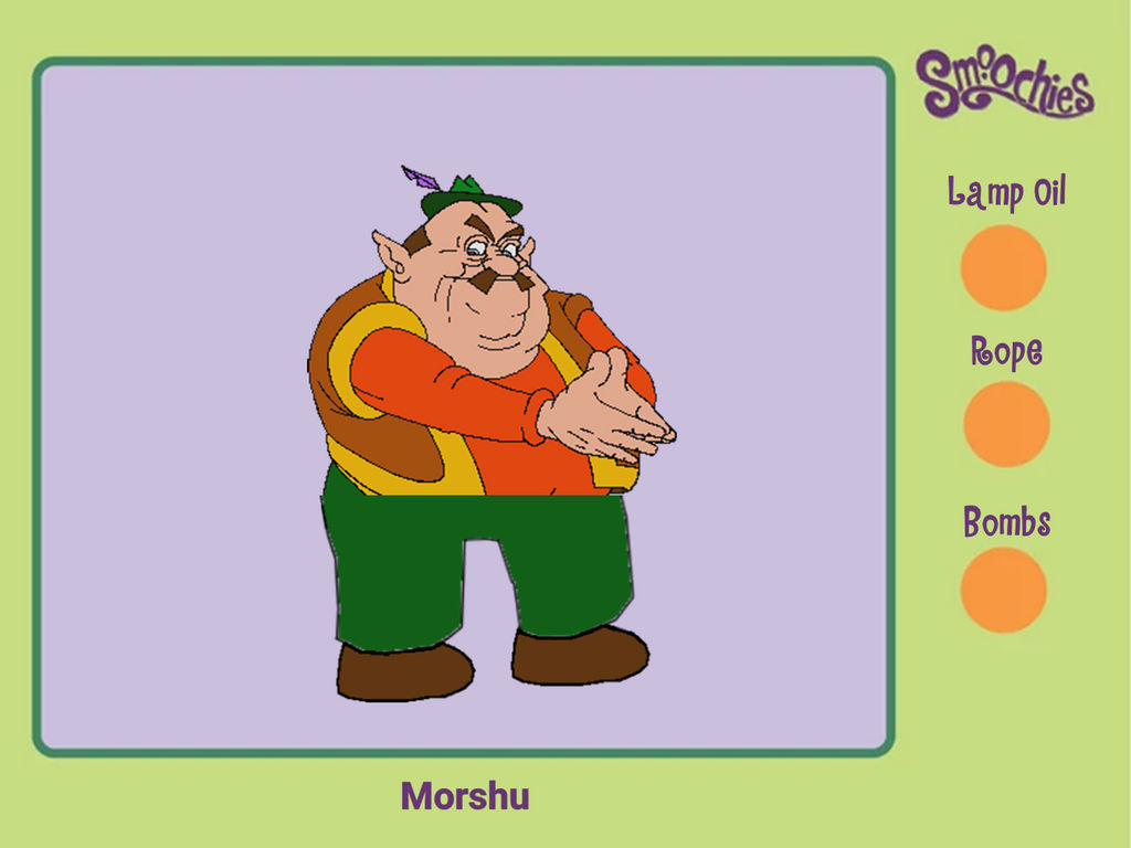 Morshu S Mmm Smoochie By Kaplanboys214 On Deviantart
