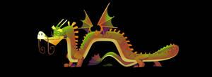 Smiling Dragon Mauldrin by Gilmec
