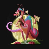 The Jabberwocky by Gilmec