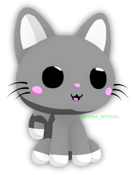 Celshaded Chibi Cat by EEEnt-OFFICIAL