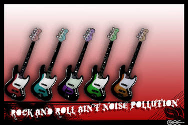 Rock n Roll Wall by rafaelmh9