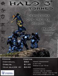 halo tournament poster by rafaelmh9