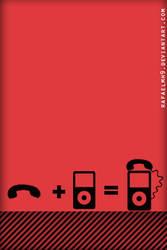 phone + ipod wall by rafaelmh9