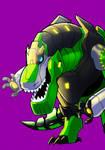 Grimlock by DecepticonCyberWolf