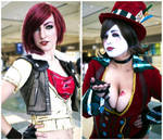 Borderlands: Lilith and Mad Moxxi by II2DII