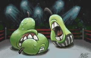 Salamancan Wrestling by kittyninjafish