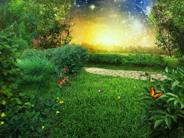 Fantasy landscape 07 by IgnisFatuusII