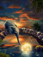 A little elephant by IgnisFatuusII