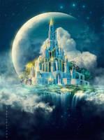 Moon castle by IgnisFatuusII