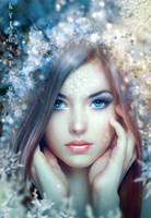 SnowflakePrincess by IgnisFatuusII