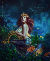 Tears of Mermaid by IgnisFatuusII