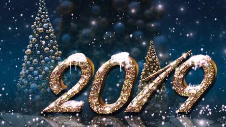 New Year 2019 by IgnisFatuusII