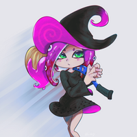 witch by kinago