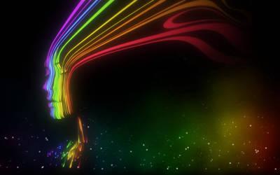 Rainbow Woman by JerX88