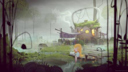 Tea witch hut by MilanVasek