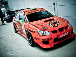 Team Orange Subaru Impreza WRX by ahmad0410