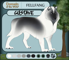 DotW | Gustave, Omega of Fellfang by IraWolfeh