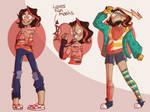 -Oc Cassie redesign- by AkoAndMe
