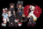 The Custom Characters by AkoAndMe