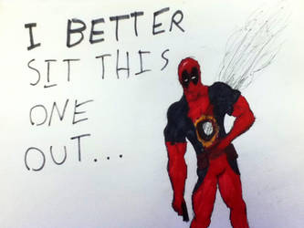 Deadpool Down by jonah365