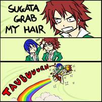 GRAB MY HAIR by HyruleMaster