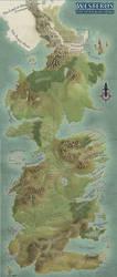 Westeros Map by SociallyArtward