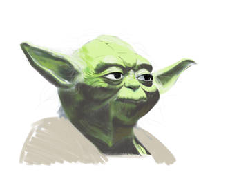 Yoda -iPad Study by nagi-as